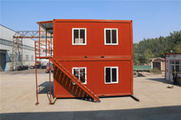 alibaba prefabricated south africa low price prebuilt comfortable container house for living