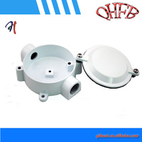 Hot sale white electrical cable outlet box / splice box