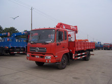 5 ton crane manufacturer 5ton telescopic boom crame truck mounted crane