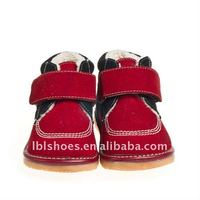 new arrival winter child shoes SQ-C10905-RED