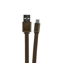 OEM service by professional manufacture 3 ft v8 usb data sync and charging cable with metal head