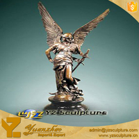 cast Bronze life size Angel Statue