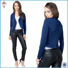 2015 Latest fancy Crepe Moto Jacket/fold up jackets/down jacket