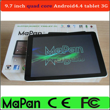 dual sim android 4.4 tablet prices alibaba china, 9.7 inch MaPan 3g tablet pc