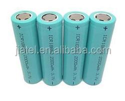3.7v high capacity rechargable 18650 battery