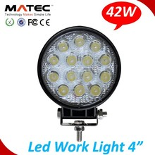 Factory+Wholesales+Best Service Round 42w Spot/Flood Work Led Light
