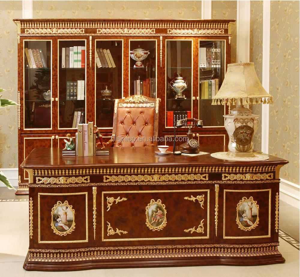Luxe franse antieke barok stijl stoffen zitbank set/messing ...