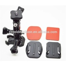 For Gopro Accessories Camera Tripod Adapter Set Convert For Gopro Hreo Mounts For Common Camera With 1/4inch Connector Using