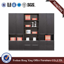 Excellent mancraft wood book storage cabinet & display cabinet & filing cabinet HX-FD008