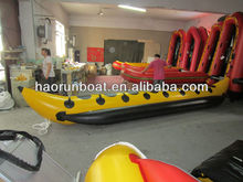 8 persons Banana inflatable boat