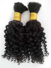 Indian Tight deep wave hair weave Completely tangle-free no shedding human hair extensions