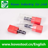 KOVES 2 flute cnc carbide end mill cutter size CCE2-3*6L
