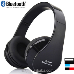 2015 China supplier mini wireless bluetooth stereo headset cheap private label bluetooth headphone