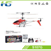 100% Original 3 Channel Mini Syma 3CH RC Helicopter S107G with long flying time