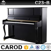 scottish concert upright piano black flexible keyboard piano