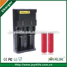De alta eficiencia de buena calidad cargador i2, nitecore i2 cargador inteligente