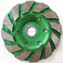 Turbo Diamond Wheel Cup for Stone Rough and Fine Grinding