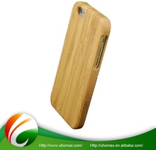 High Quality Customized Logo Aluminum Wood Bumper Case For Iphone