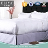 ELIYA Factory Cotton White Hotel Stitching Bed Sheet /Duvet Cover Set