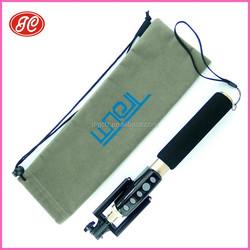 2015 most popular selfie stick drawstring bag &Take artifact bag for mobile ,camara