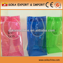 colored pvc wine cooler bag manufacturer