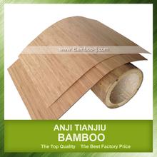 Hoja de bambú tabla de cortar de madera de bambú plástica carillas