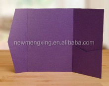 High quality hot sell folding fashionable 2015 invitation card