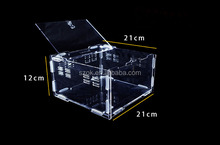 Small fashion design clear acrylic quail cage for sale