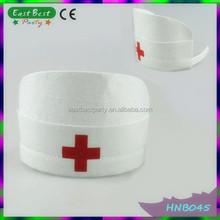 Ladies Naughty Nurse Sexy Fancy Dress Fun partido de galinha enfermeira chapéu / Headband