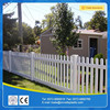pvc picket fencing for garden use with strong uv resistance and low price