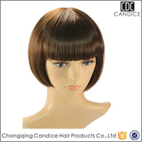 2015 Hot Sale Style Synthetic Short Bob Wig,Wholesale Price Sexy lady Short Hair Wigs