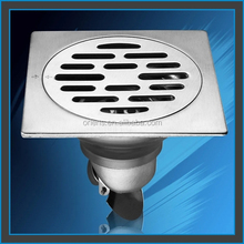 customized Square Stainless Steel Floor Strainer / Drain from Alibaba