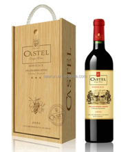 2015 Top Quality Cheaper Wooden Wine Box/ Wine Case for Single Bottle