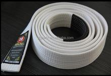 high quality custom logo 100% cotton judo belt taekwondo belt