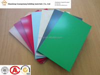 4mm 5mm PVDF aluminum composite panel modern exterior wall cladding lightweight building material