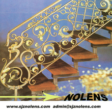 Interior Home Iron Artists of Modern Wrought Iron Banister Stairs Design Factory Price Quoted