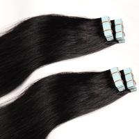 Double Drawn pu Hair Skin Weft Hair Extension, Remy Human Hair, Eurasian Hair Remy Tape Hair Extension
