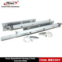 cheap sliding door system(concealed lower running rail)