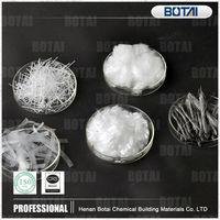 good dispersity 100% polypropylene fiber pp fiber for concrete