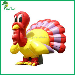 Thanksgiving PVC Promotional Custom Inflatable Cartoon Turkey
