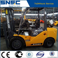 SNSC import japan nissan engine forklift truck 3ton in stock