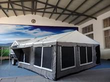 China manufacturer offroad (car roof tent)camper trailer luxury hard floor folding camper trailer for sale