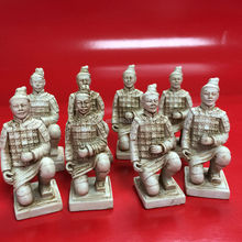 Wholesale Resin China's Terracotta Army chess game pieces