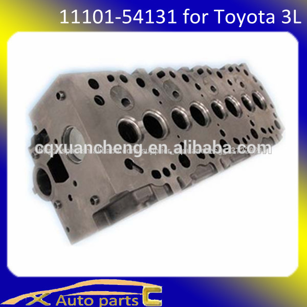 Partes de automóviles de shizun para toyota 3l la cabeza del cilindro 11101-54131