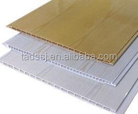 2015 high quality laminated pvc ceiling board for decoration of your houses