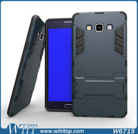 New Products 2 in 1 TPU PC Armor Stand Cell Phone Case for Samsung Galaxy A7