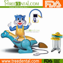 TR-A80001A Lovely Dinosaur & Blue Cat design Children dental Chair Unit china manufacturer dental unit