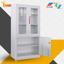 Enduro kd structure metal furniture living room furniture full-height steel almirah cupboard