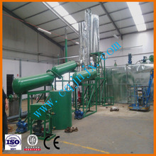 With CE certification used lubricant/car oil distillation system! JNC china waste oil recovery device