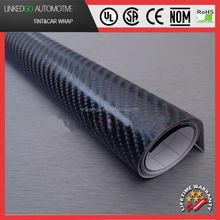 Factory direct sales auto sticker self adhesive film carbon fiber 4d\/ vinyl car wrap\/green auto carbon fiber wrap viny